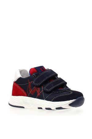 Jesko  suède sneakers donkerblauw/rood