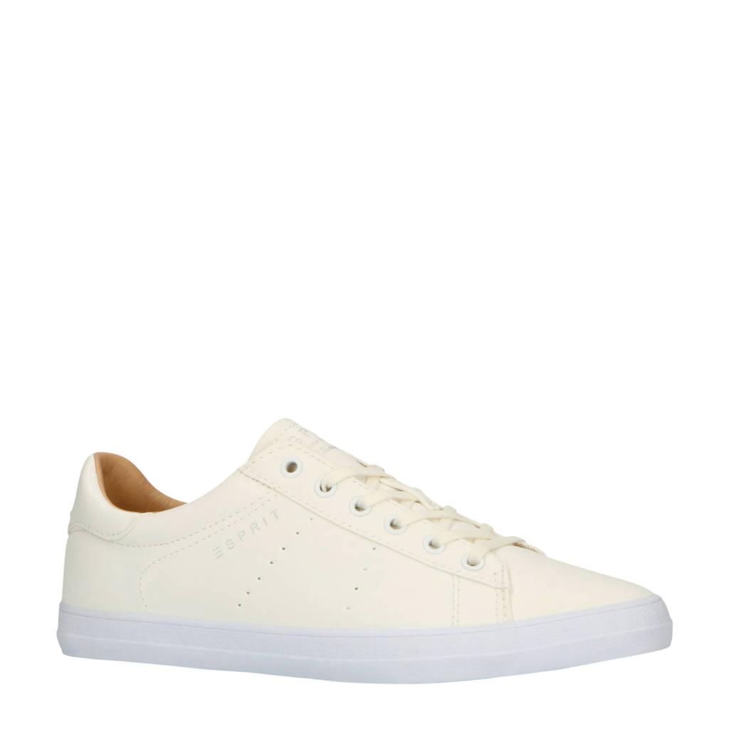ESPRIT  Miana Lace Up sneakers wit, Wit/crème