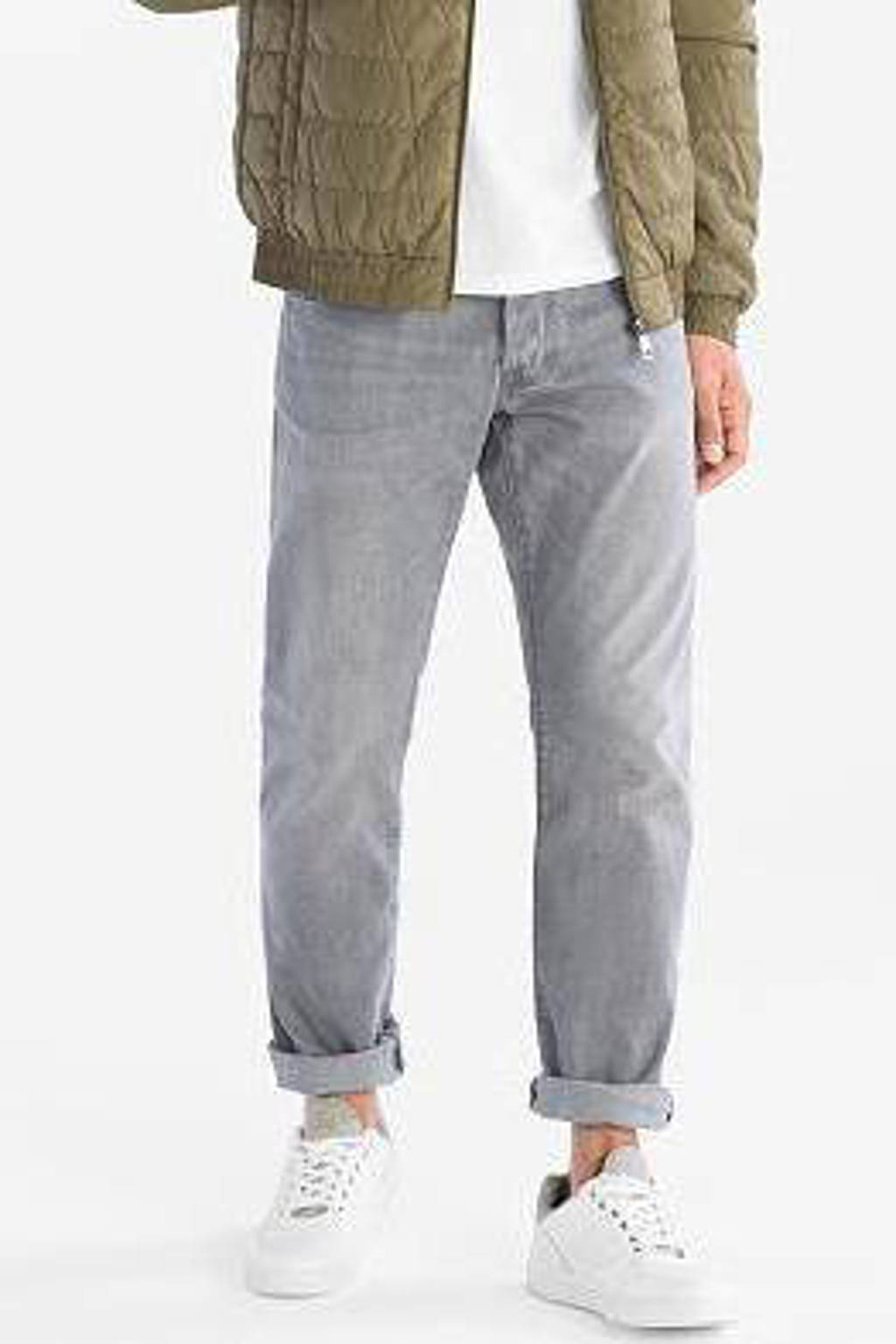 C&A The Denim straight fit jeans grijs, Grijs