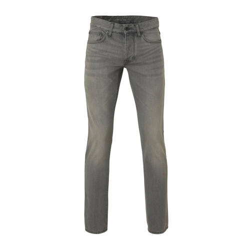 C&A The Denim straight fit jeans grijs