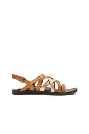 Awe Awe Awe Awe leren outdoor sandalen naturel