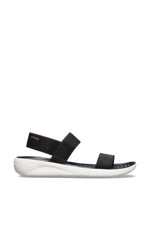 Croslite, literide LiteRide sandalen zwart/wit