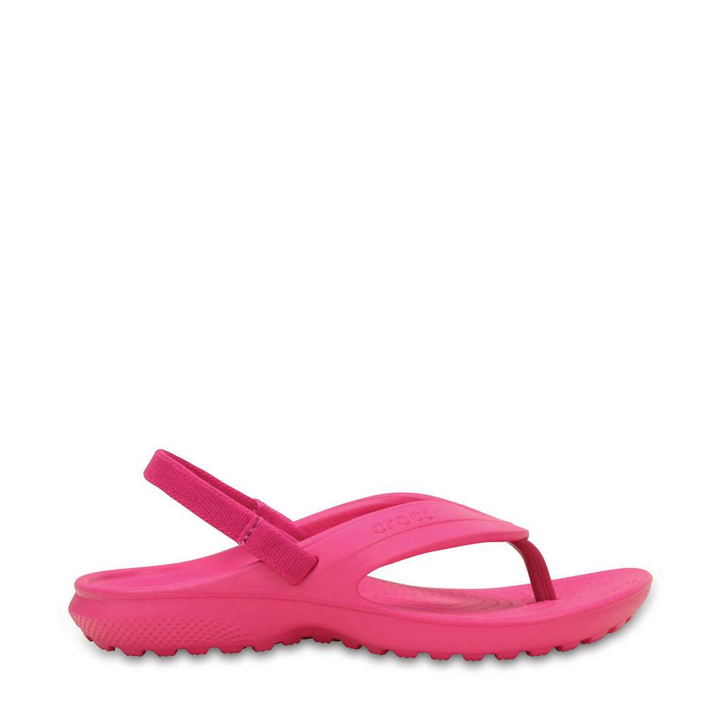 Crocs   Classic Flip sandalen roze, Roze