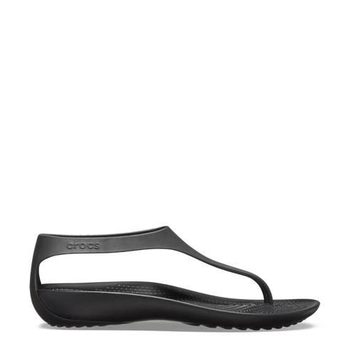 Crocs teenslippers zwart