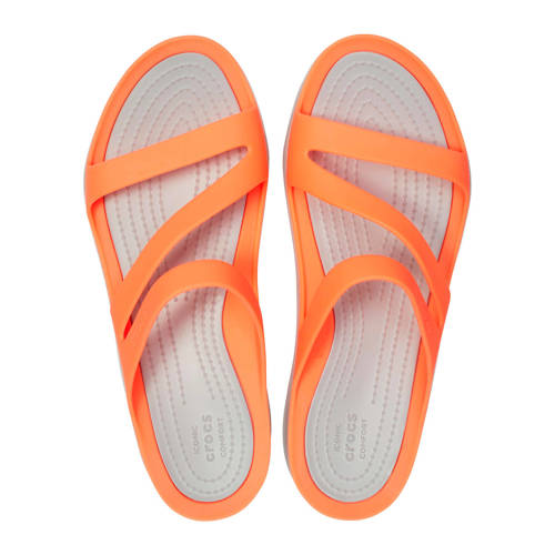 Crocs Swiftwater Sandals slippers oranje