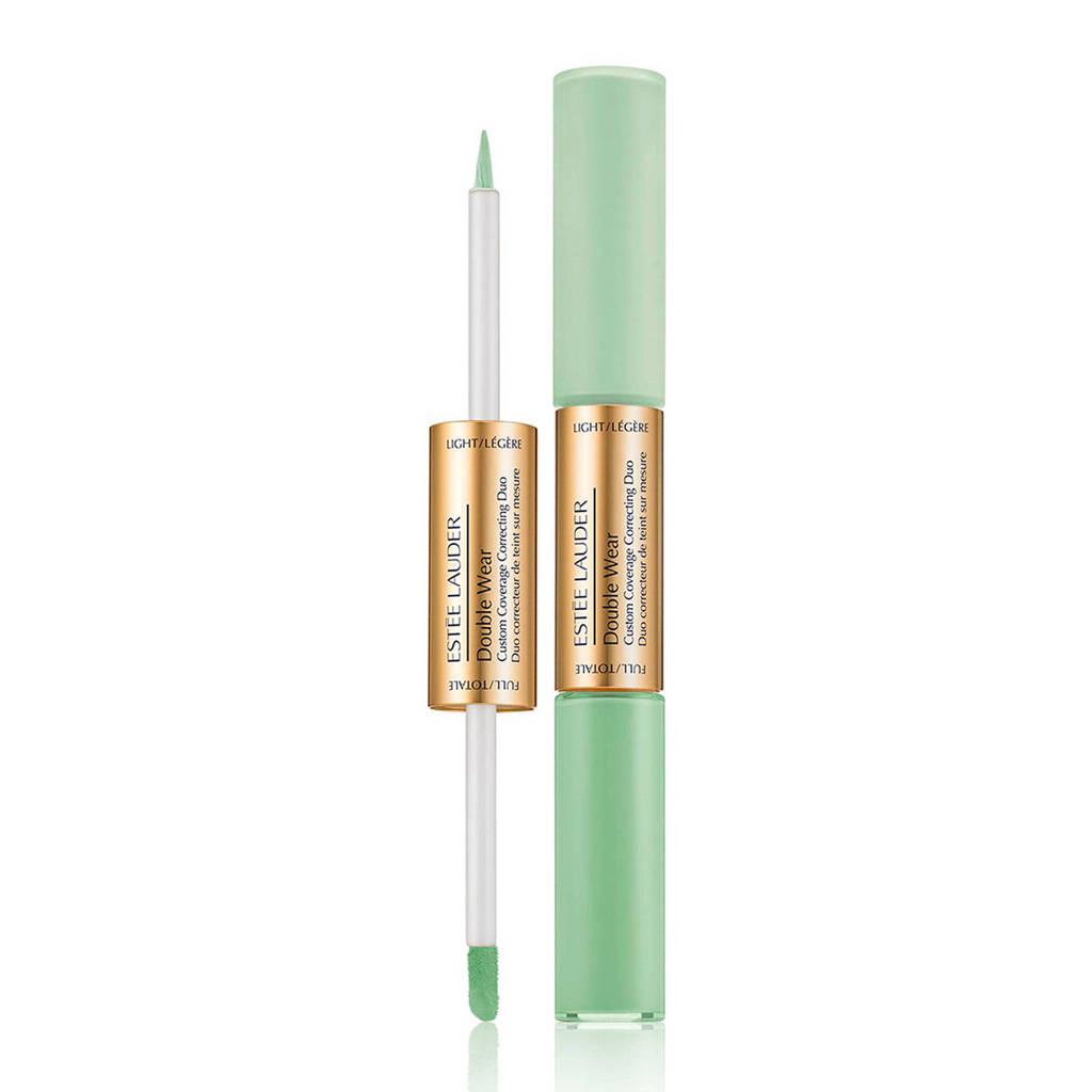 Estée Lauder Double Wear Custom Coverage Correcting Duo foundation - Green