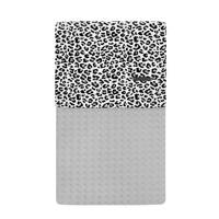 Your Wishes baby wiegdeken 70x100 cm leopard grey, Grijs