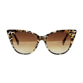 zonnebril met luipaardprint