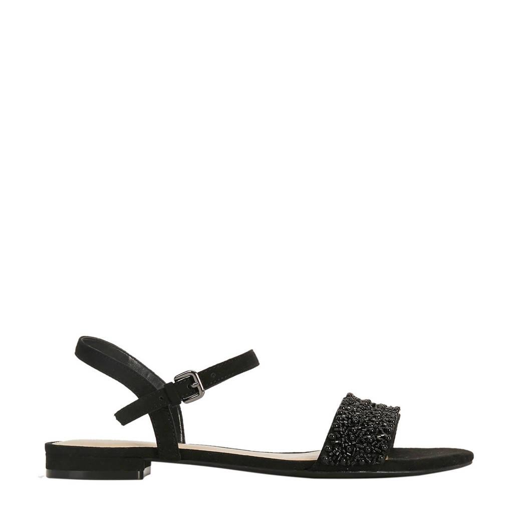 Parfois sandalen zwart, Zwart