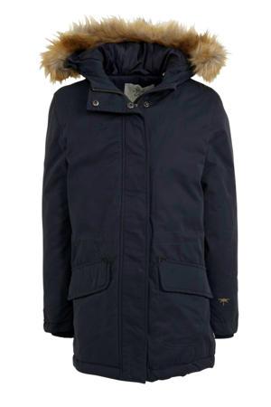 parka winterjas donkerblauw