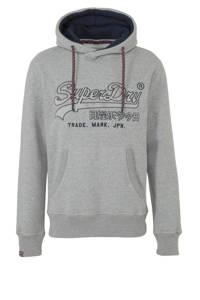 Superdry hoodie met capuchon grijs, Grijs