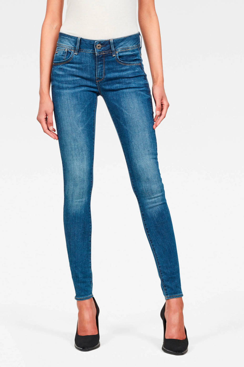 G-Star RAW skinny jeans Lynn Faded blue, Faded Blue