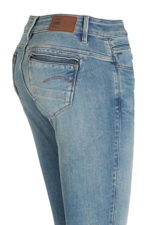 skinny jeans Midge Zip blauw