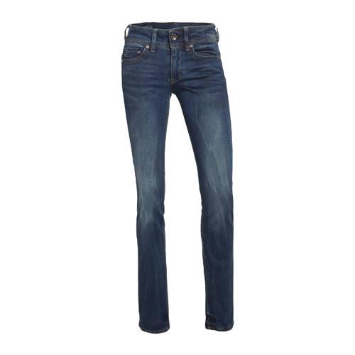 G-Star RAW straight fit jeans Midge donkerblauw
