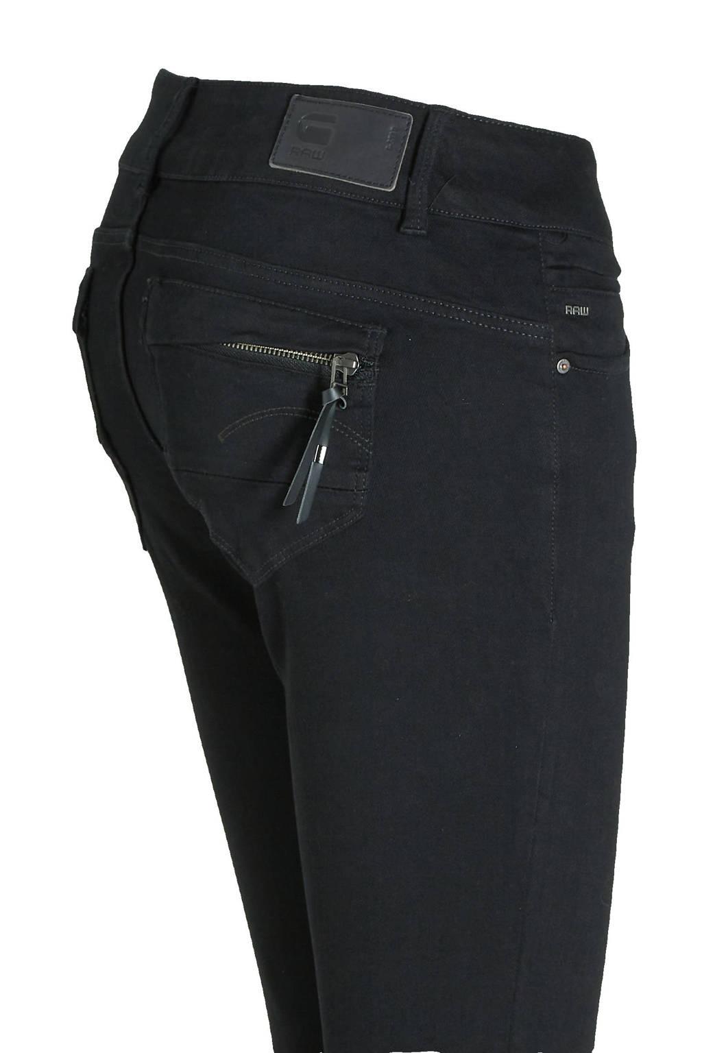 G-Star RAW skinny jeans Midge Cody zwart, Zwart