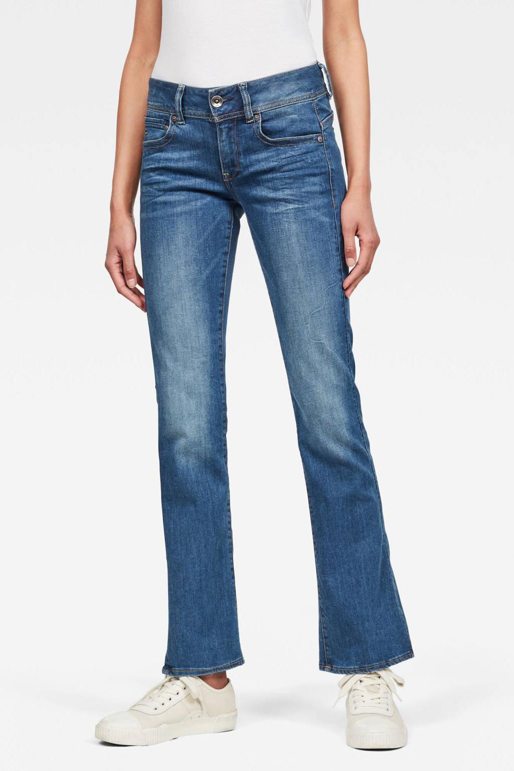 G-Star RAW Nuetro flared jeans blauw, Blauw