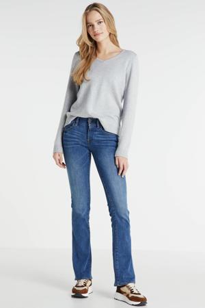 Midge flared jeans faded blue