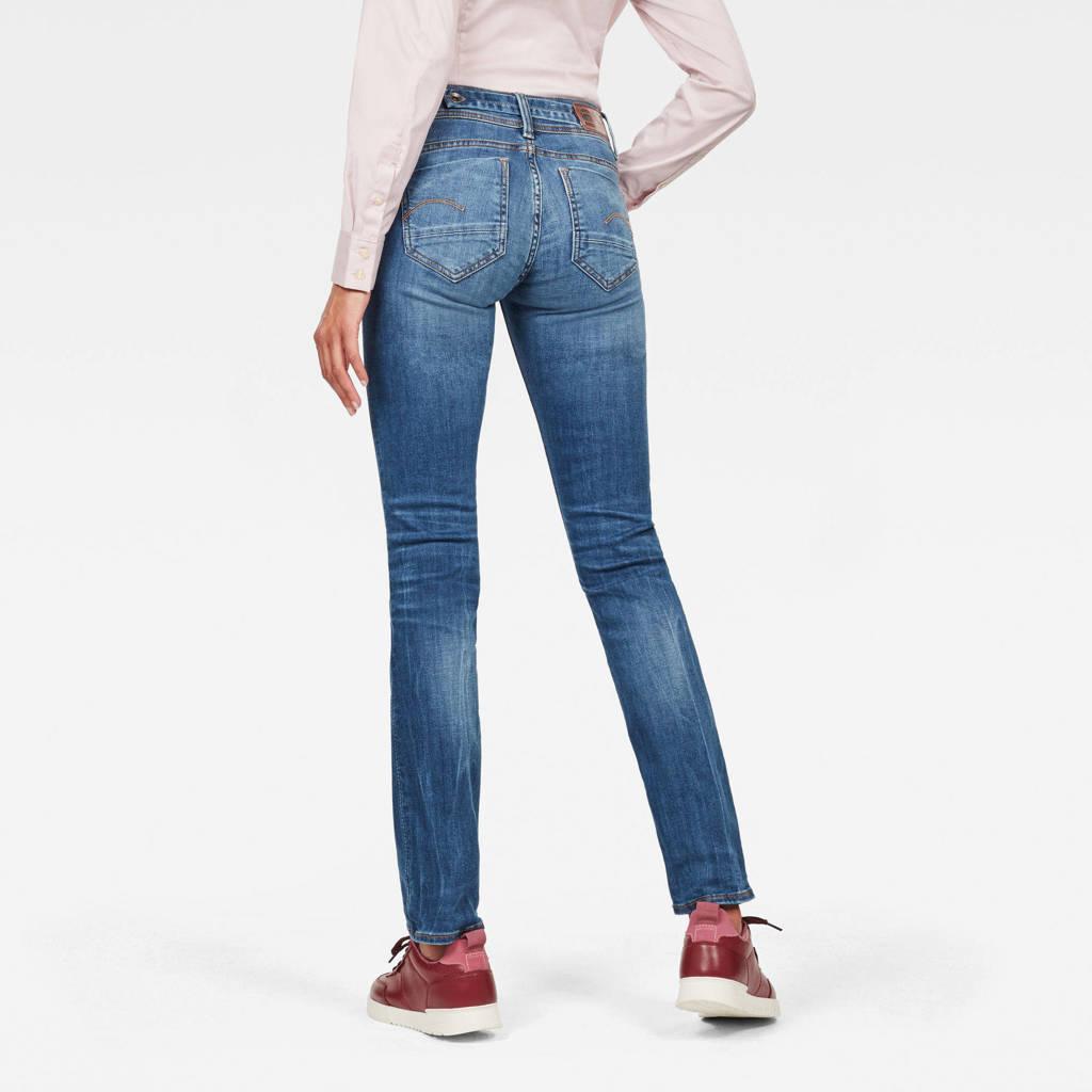 G-Star RAW Midge Saddle straight fit jeans, Blauw