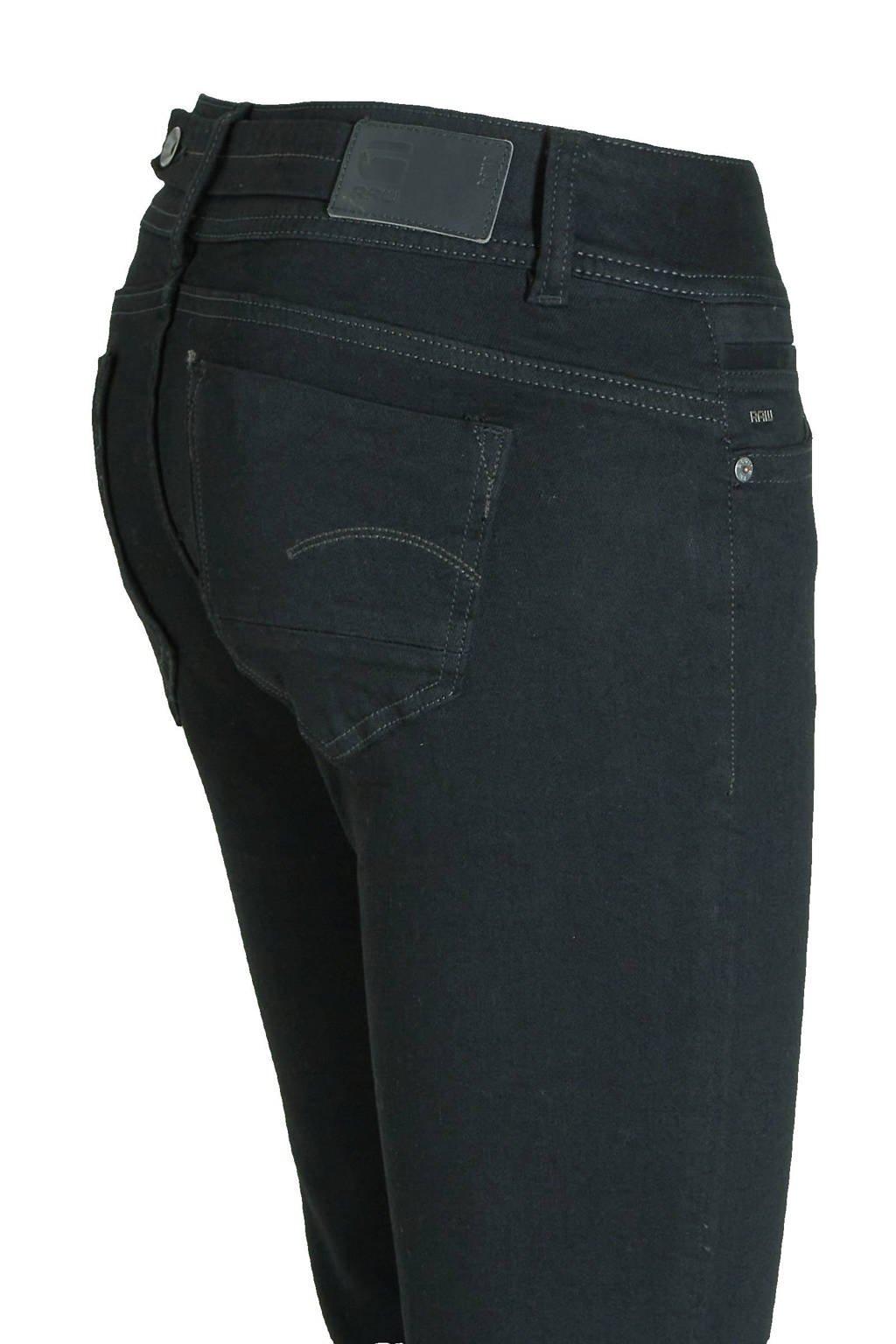 G-Star RAW bootcut jeans Midge zwart, Zwart