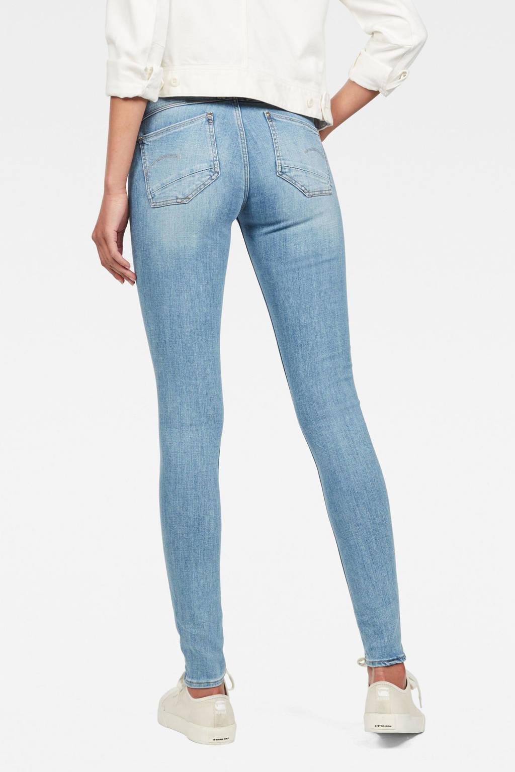 G-Star RAW skinny jeans, Blauw