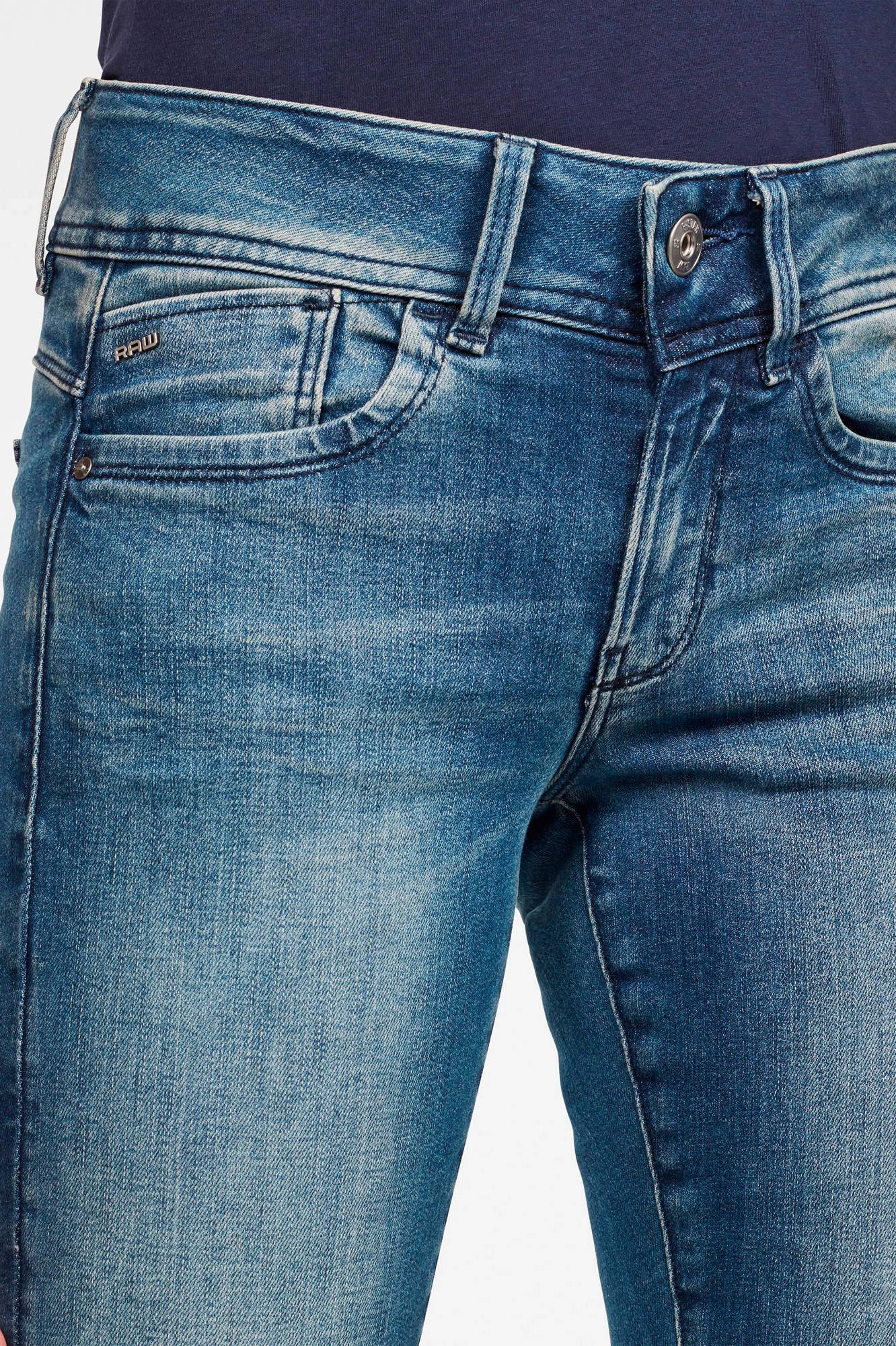 G-Star RAW Lynn  super skinny jeans blauw