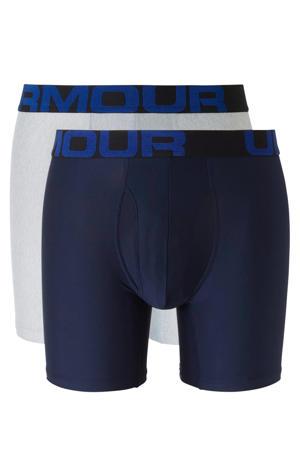sportboxer (set van 2) donkerblauw