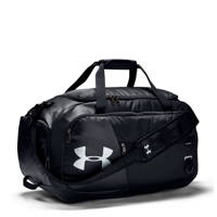 Under Armour   Undeniable Duffel 4.0 Medium sporttas zwart, Zwart