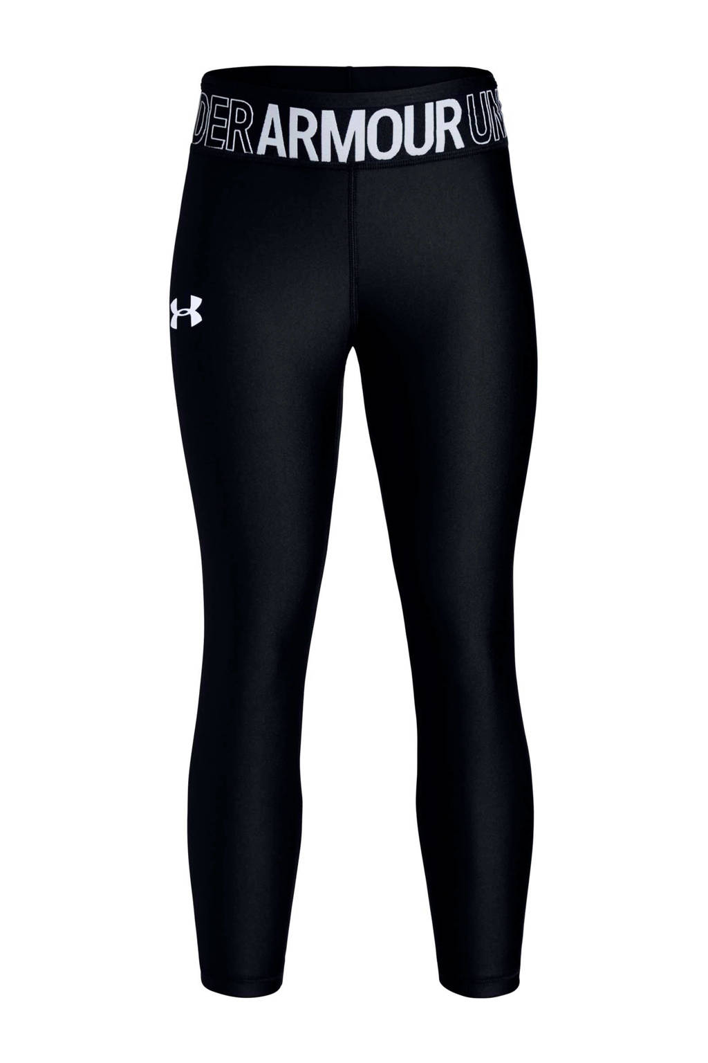 Under Armour sportcapri zwart, Zwart