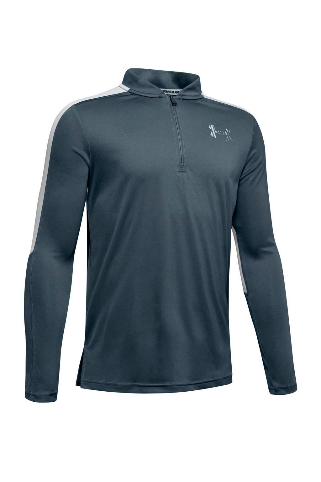 Under Armour   sport T-shirt grijs, Grijs