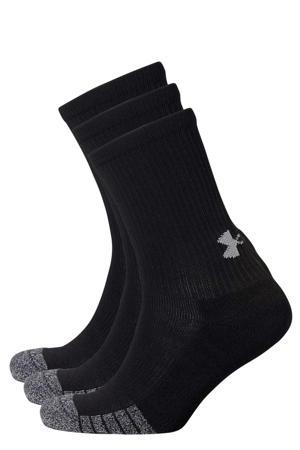 sportsokken zwart (set van 3)