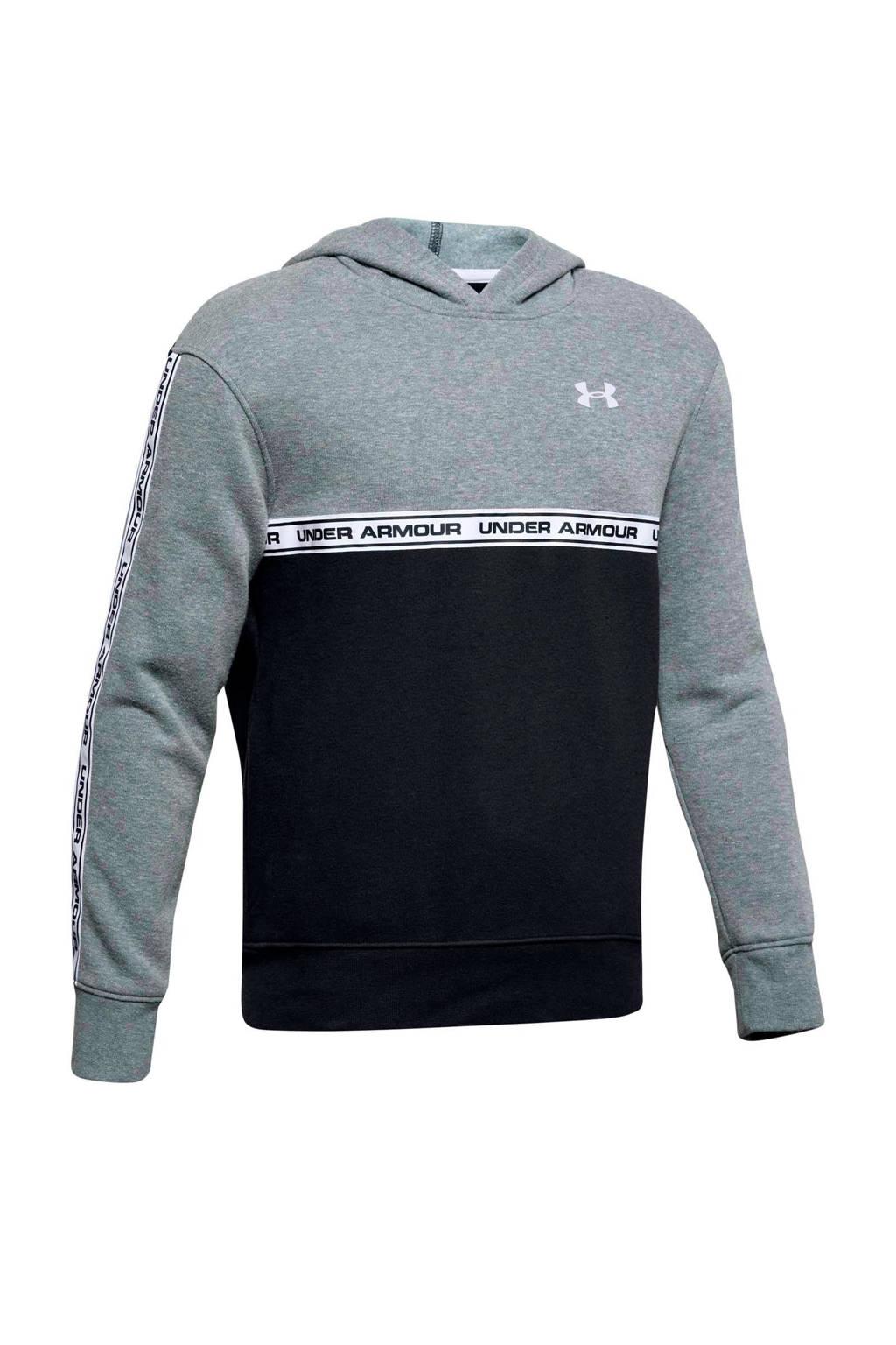 Under Armour   hoodie grijs/zwart, Grijs/zwart