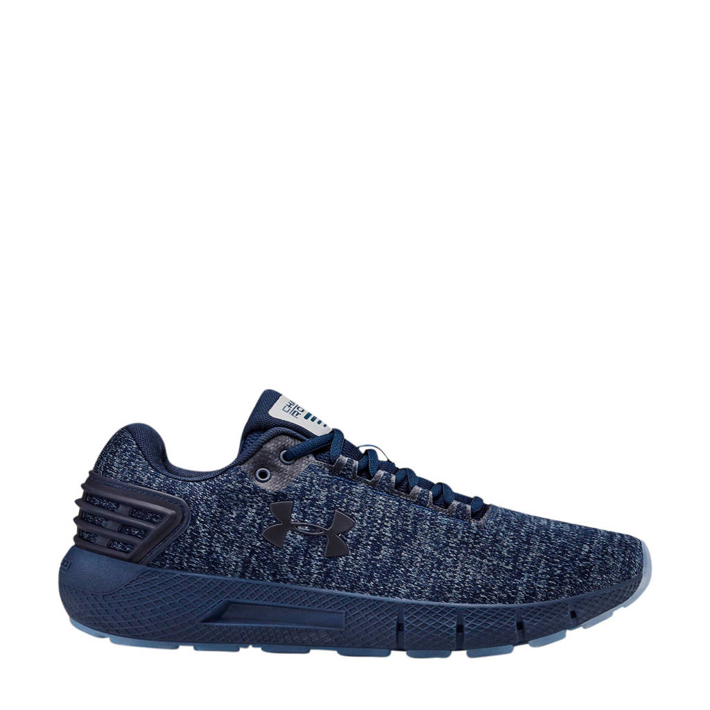 Under Armour Charged Rogue Twist Ice  hardloopschoenen donkerblauw, Donkerblauw