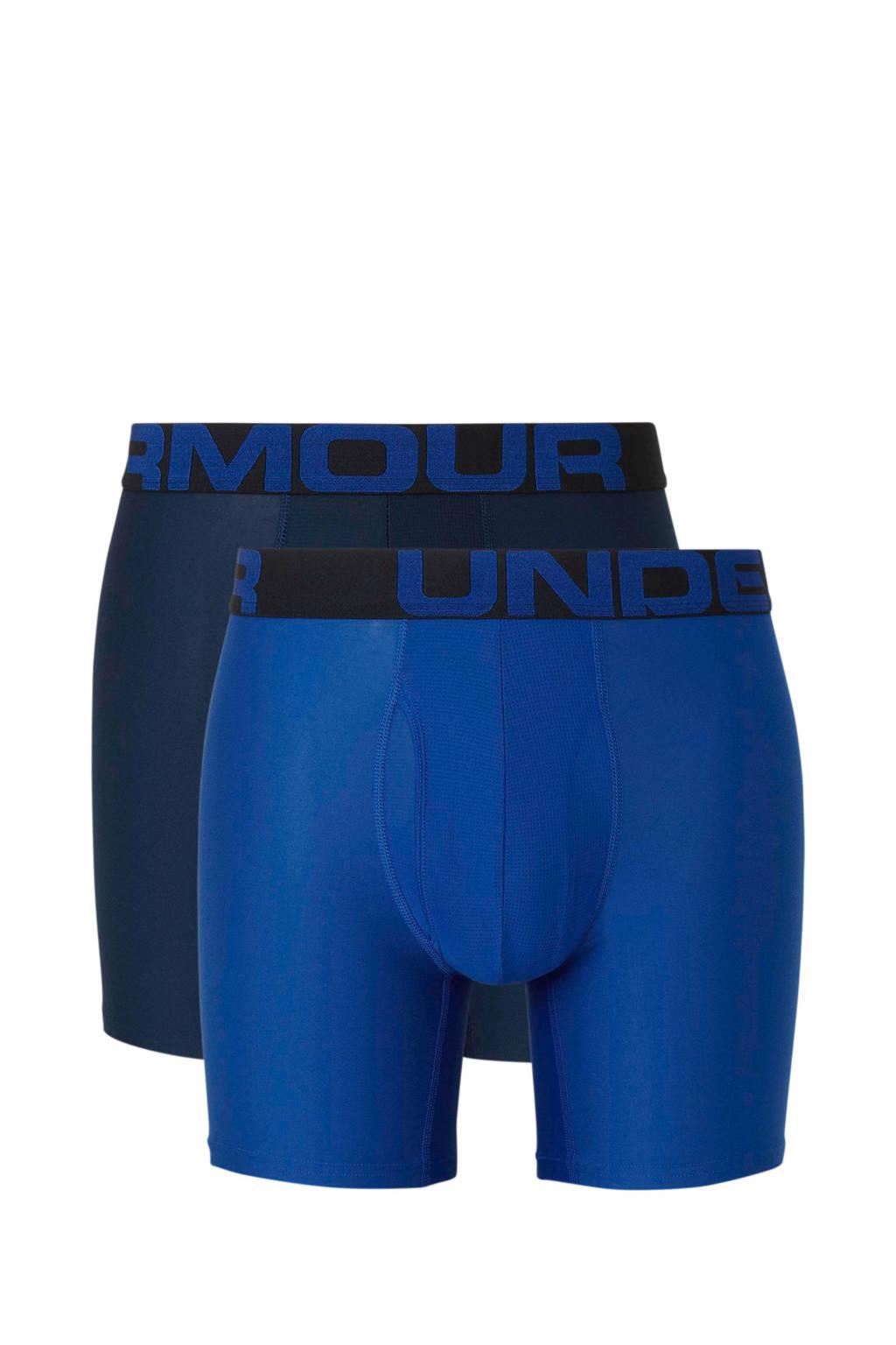 Under Armour sportboxer (set van 2) blauw, Blauw