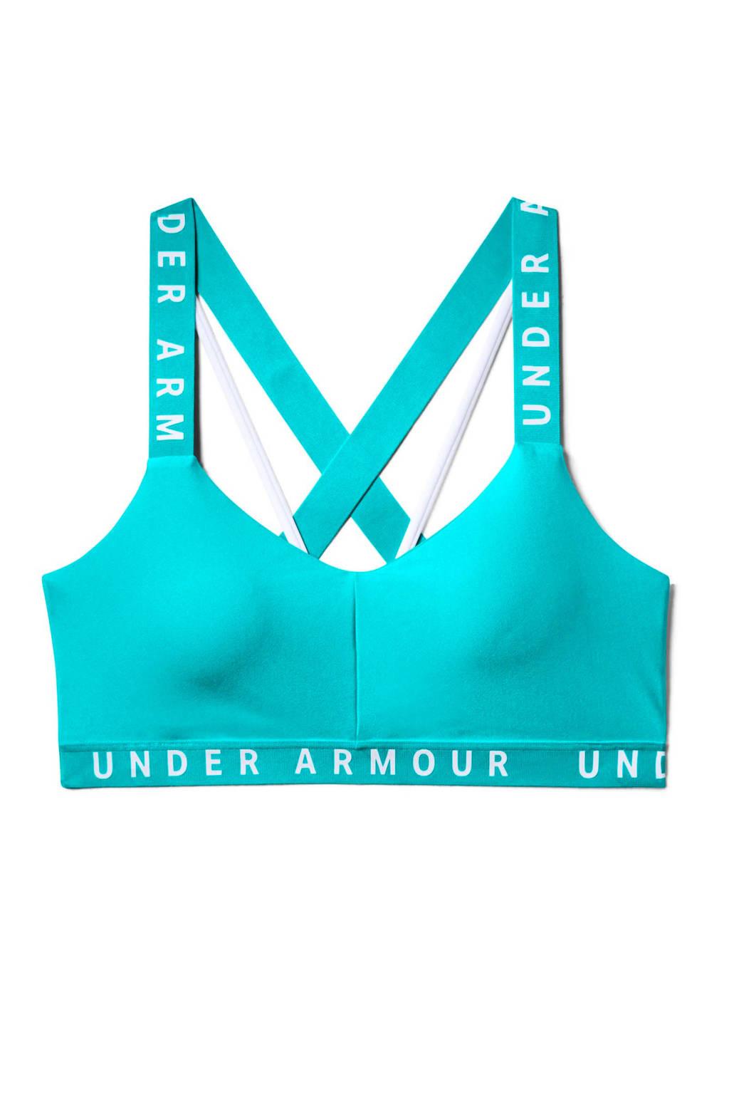 Under Armour sportbh blauw, Blauw