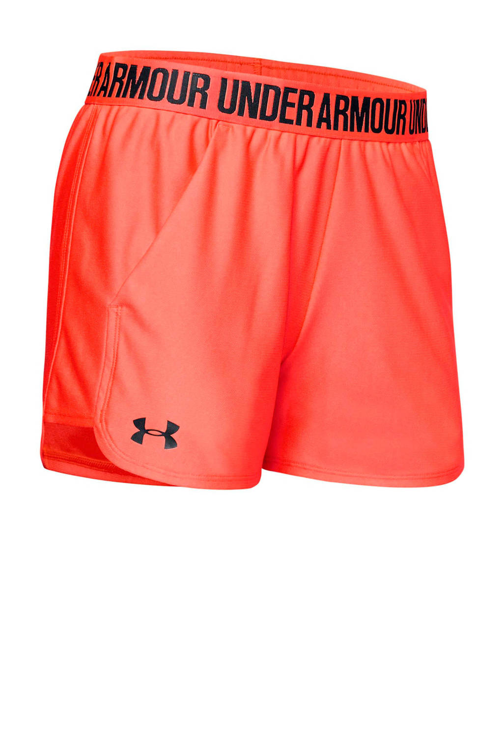 Under Armour sportshort oranje, Oranje