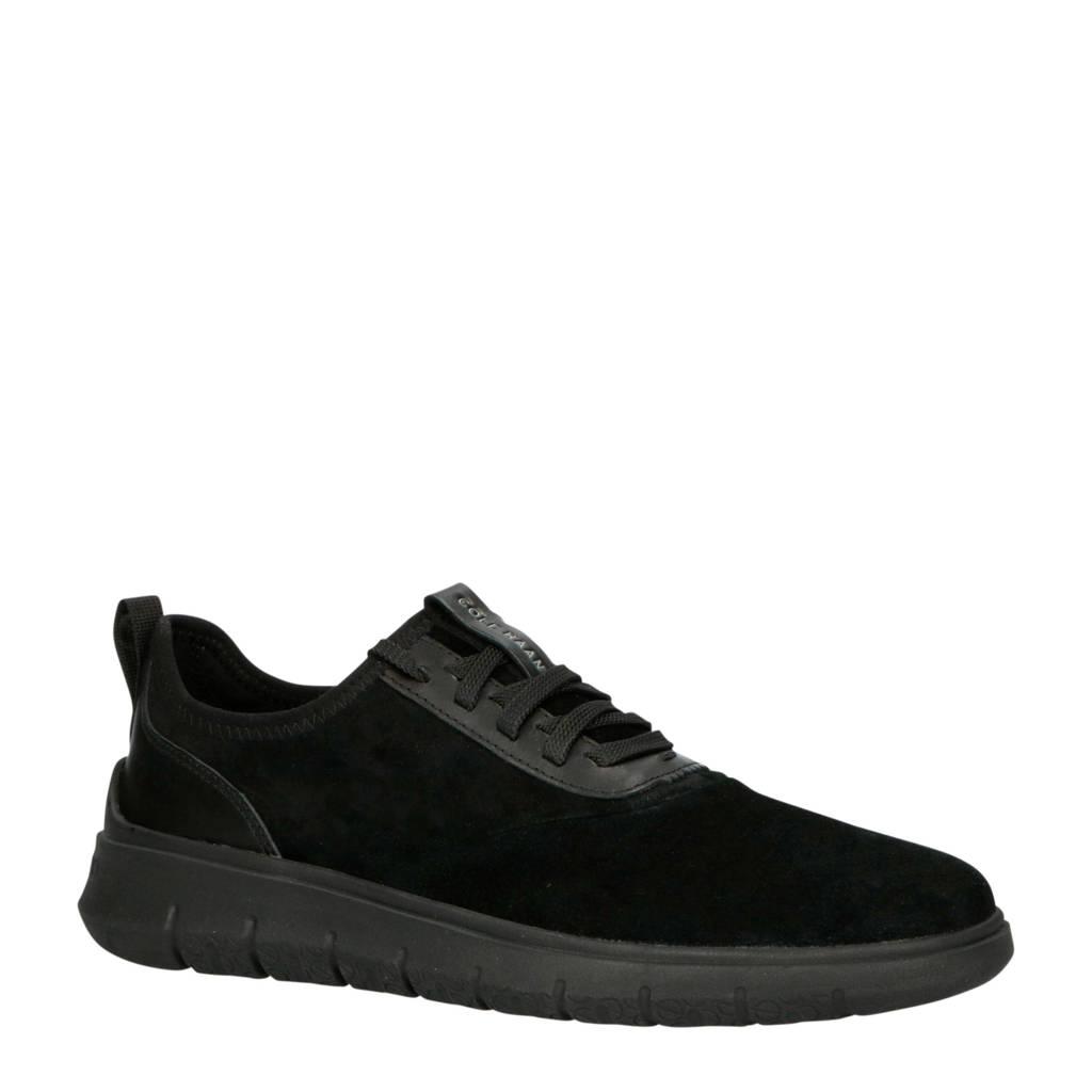 Cole Haan Generation Zerogrand  suède sneakers zwart, Zwart