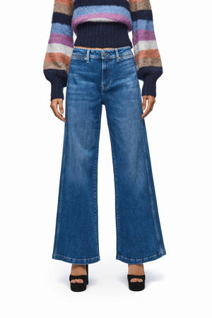 loose fit jeans Groove blauw