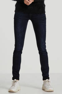 Il Dolce skinny jeans Ibiza donkerblauw, Donkerblauw