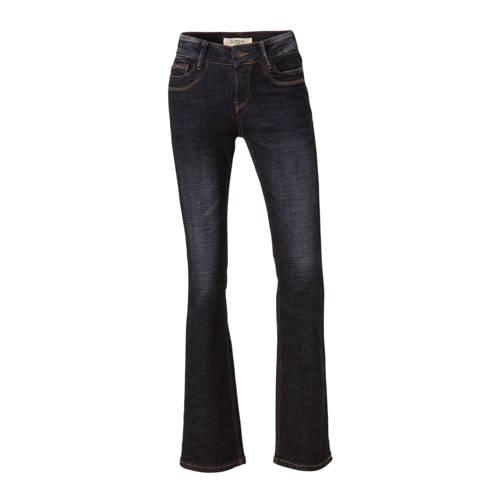 Il Dolce high waist bootcut jeans dark denim