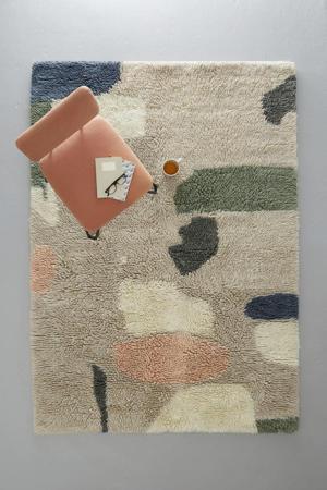 vloerkleed Saul (wol)  (230x160 cm)