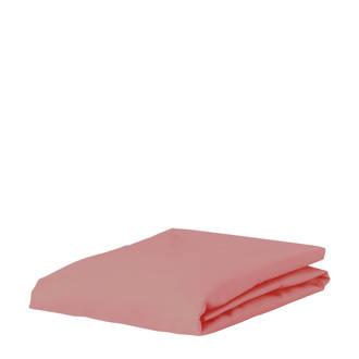 perkalkatoenen (hotel) hoeslaken Roze