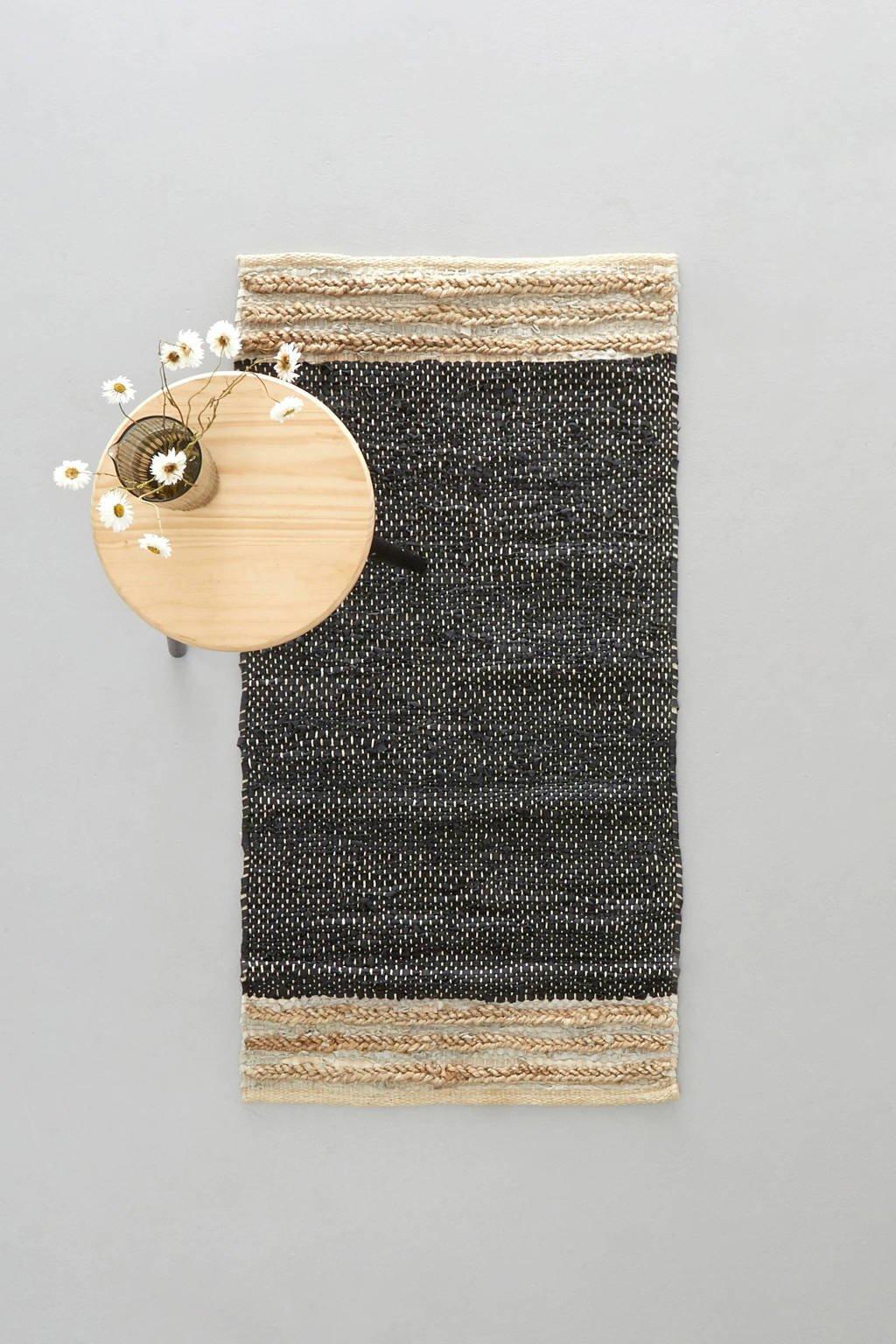 whkmp's own vloerkleed Sanne (leer)  (120x60 cm)