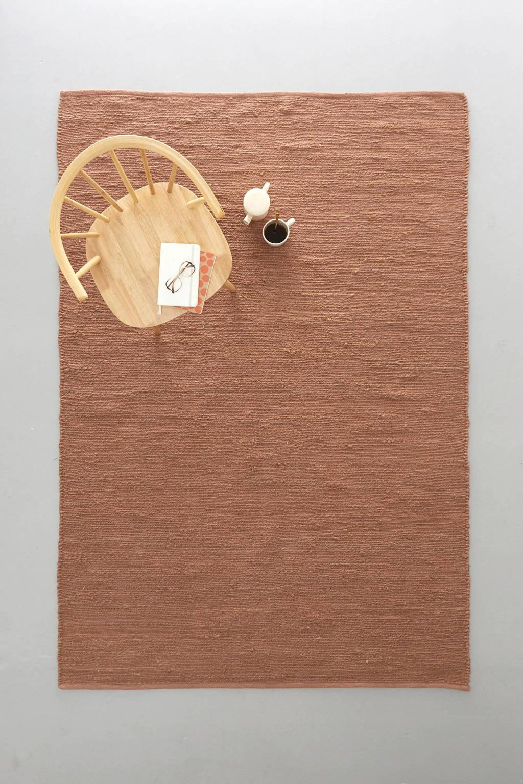 Wehkamp Home vloerkleed Savi  (230x160 cm), Koper