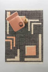 whkmp's own vloerkleed Soho  (230x160 cm), Zwart