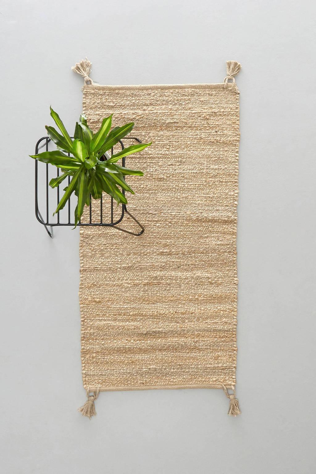 whkmp's own vloerkleed Savi  (120x60 cm), Naturel