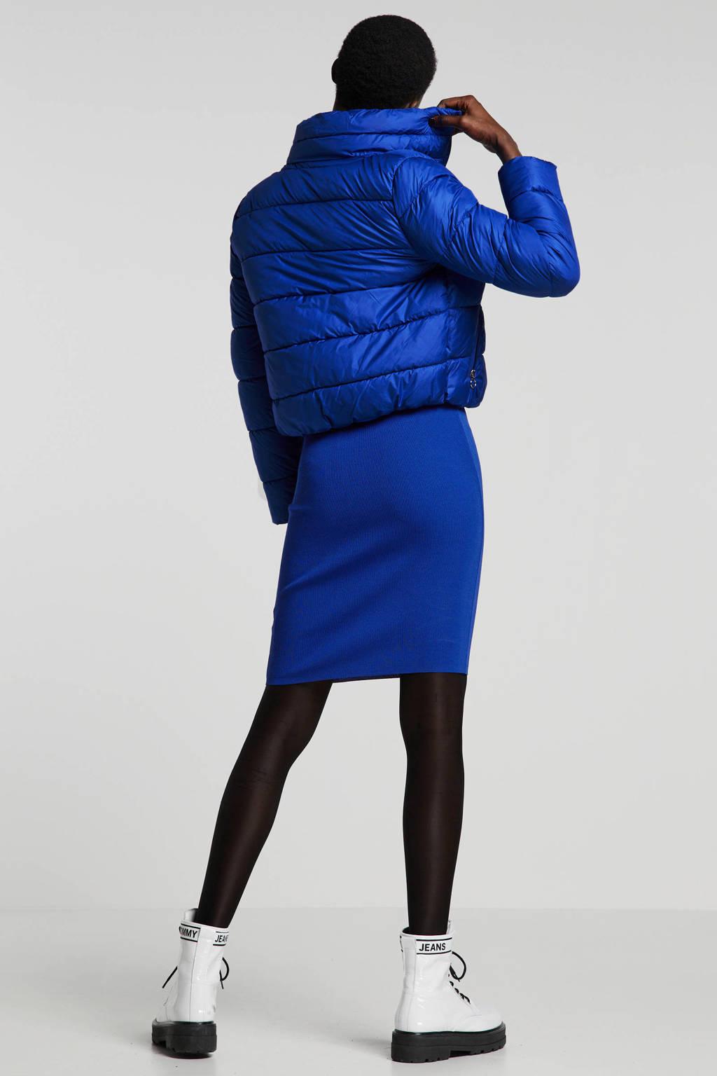 ONLY winterjas blauw, Blauw