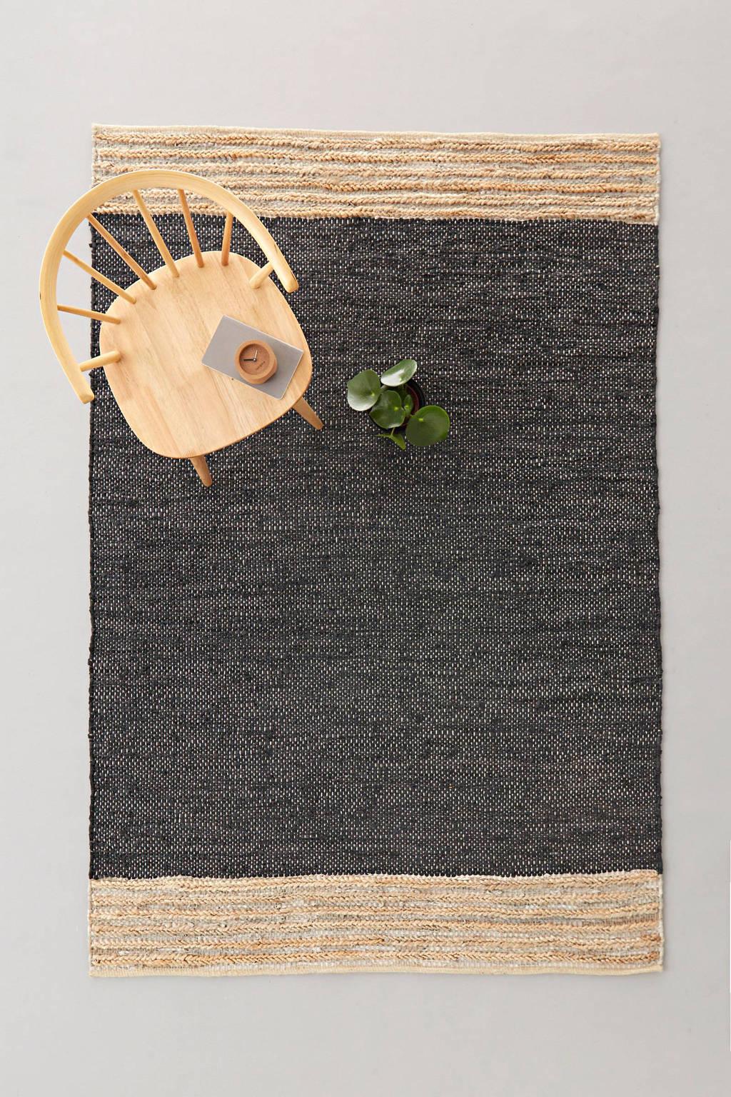 whkmp's own vloerkleed Sanne (leer)  (230x160 cm)