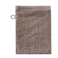 Seahorse washand Pure (set van 6) (21x16 cm) Taupe