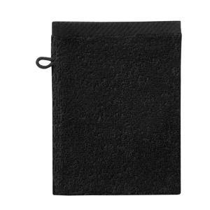 washand Pure (set van 6) (21x16 cm) Zwart