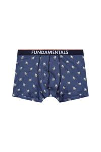WE Fashion Fundamental boxershort, Marine